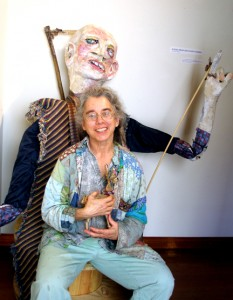 Artist with Greeter