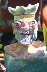 Ceramic Old King