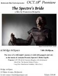 Spectre's bride poster