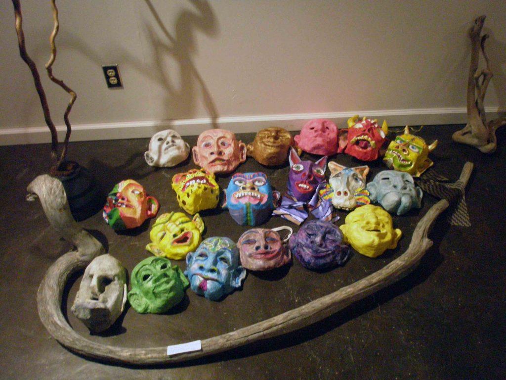 Tree of Masks Installation