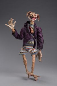 Francesca Borgatta Articulated Puppets Dirty Dawg