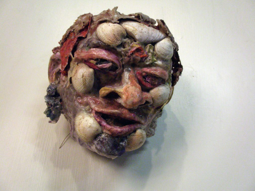 Francesca Borgatta Sculpture-Shell Mask