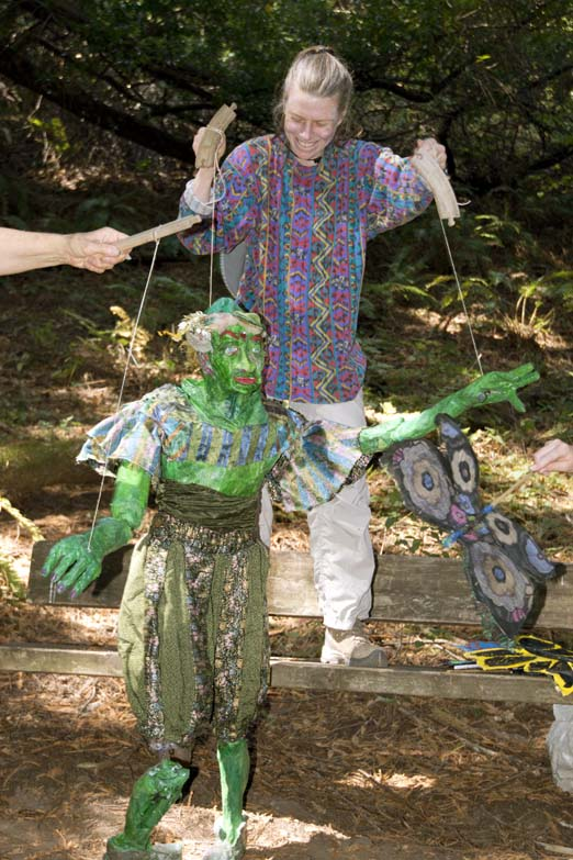 Art-in-Nature Festival, Green Gnome
