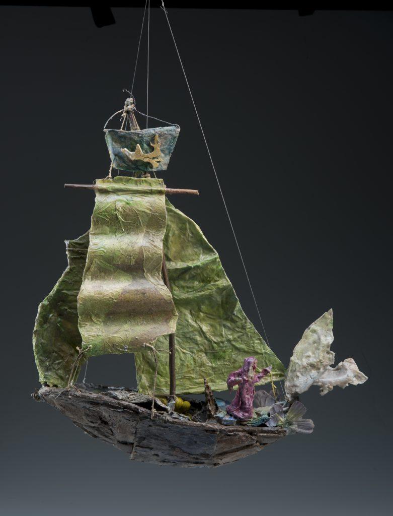 Francesca Borgatta Sculptures: ChineseBarque