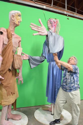 "Francesca Borgatta Puppets: ""Exchange of Scrolls"" (video in production)"
