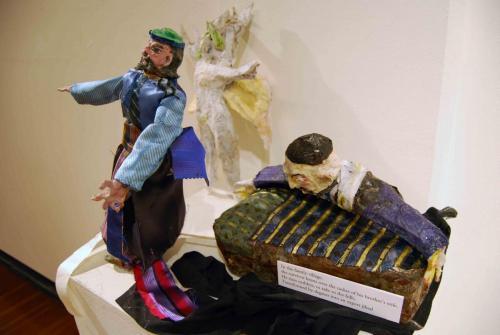 Francesca Borgatta Sculptures: Persian Casket