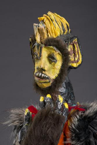 "Francesca Borgatta Articulated Puppets: ""Monkey King"" (detail)"