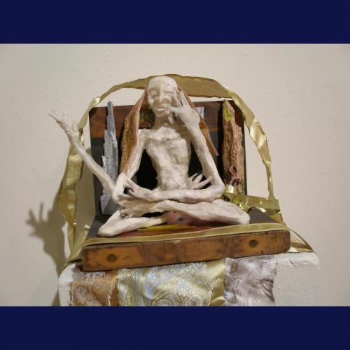 Francesca Borgatta Sculptures: Seated Meditator