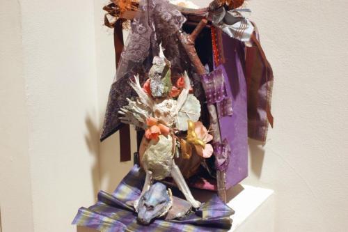 "Francesca Borgatta Dioramas: ""Bull Dancer"", 16″×14″×8″"