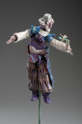 Francesca Borgatta Sculptures: Magician with Wand