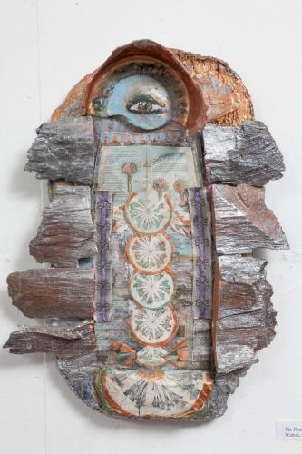 "Francesca Borgatta Reliefs: ""Seed Codex"", 12″×6″×2″"